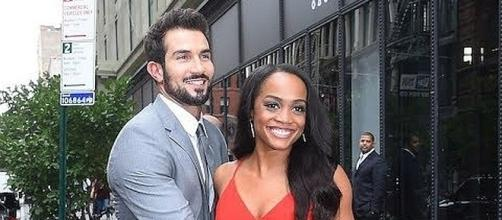 Reportedly, tension is in Rachel Lindsay and Bryan Abasolo's relationship [Image: TheFacts/YouTube screenshot]