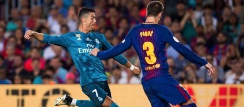 Ronaldo metió uno de los mejores goles en su carrera contra el Barça. agencian22.com.