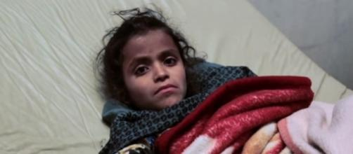 Yemen's cholera outbreak has already reached the half a million mark, with 2,000 recorded deaths/Photo via BBC News, YouTube