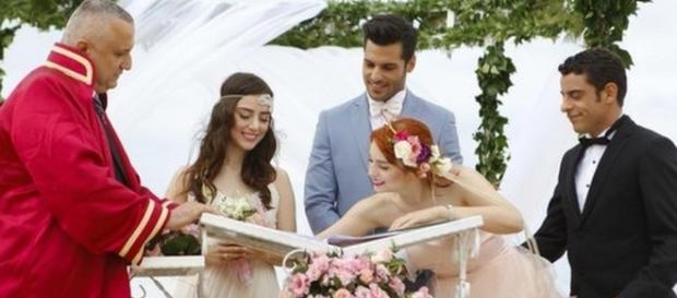 Cherry Season - Oyku si sposa con Ayaz ma è guerra con Onem