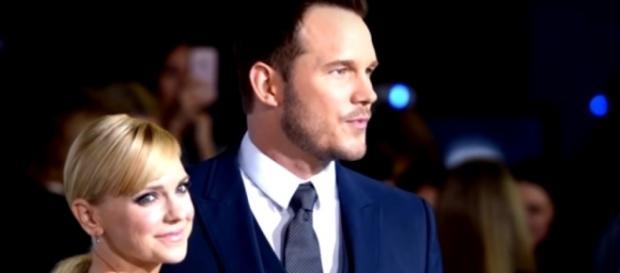 Chris Pratt, Anna Faris - YouTube screenshot   Entertainment Tonight/https://www.youtube.com/watch?v=U_5WL7OZgYk&t=4s