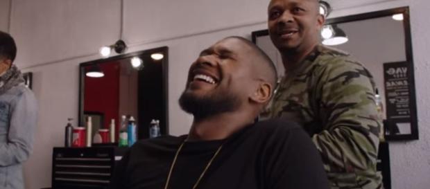 It is alleged Usher infected Quantasia with the virus. Image[UsherVEVO-YouTube]