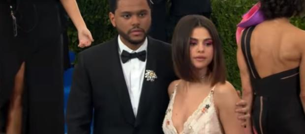 Selena Gomez, The Weeknd - YouTube screenshot | Hollywood Life/https://www.youtube.com/watch?v=w7O1s_oT8DM