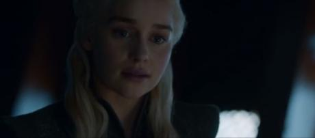 At that Moment Daenerys realized that Winter is here. Credit. HBO