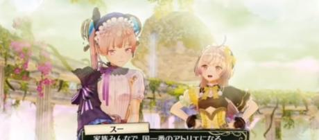 """Lots of details were revealed by Gust for """"Atelier Lydie and Soeur"""" - YouTube/Dante Nintendo Switch World"""