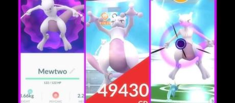 'Pokémon Go' Mewtwo Legendary Raids starts in Japan , monster catch rate is 100%(PokeAK/YouTube Screenshot)