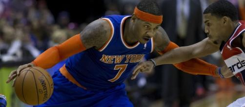 Carmelo Anthony might join the Trail Blazers. Image Credit: Keith Allison / Flickr
