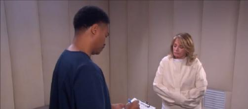 Days of our Lives Marlena Evans. (Image via YouTube screengrab DOOL)