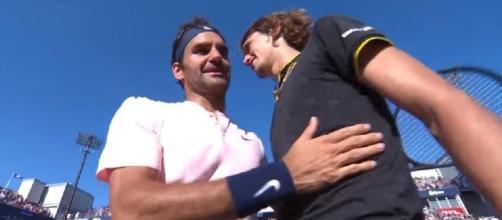 Federer congrats Zverev, Youtube, Tennis TV channel https://www.youtube.com/watch?v=KRrTgwStSMQ