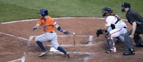 Jose Altuve   Astros at Orioles 8/21/16   Keith Allison   Flickr - flickr.com