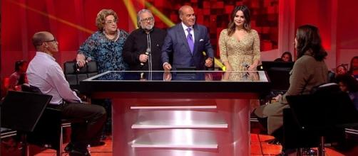 'O Céu é o Limite': programa contou com a presença de Leão, Mamma e Geisy Arruda (Foto: Rede TV!)