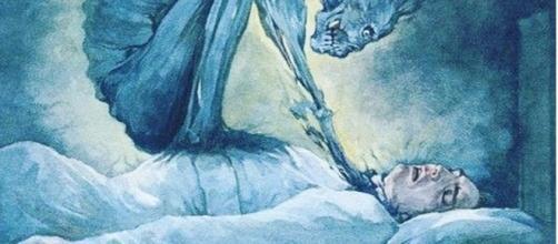 A paralisia do sono acontece quando a pessoa começa a adormecer