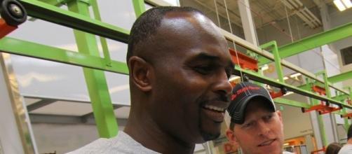 Patrick Patterson attending NBA Day of Service as a volunteer | Wikimedia Commons