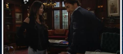 """""""The Bold and the Beautiful"""" spoilers reveal that Sheila will cause chaos in the lives of Eric and Quinn. Image via YouTube/Azevedo Evelyn Santos"""