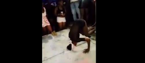 Vídeo viraliza na web após mostrar mulher quebrando o pescoço enquanto dançava