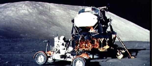 Apollo 17 lander and rover (NASA wikmimedia)