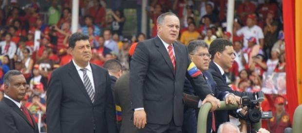 Diosdado Cabello, member of Venezuela's Constituent Assembly / Image by Luigino Bracci via Wikimedia Commons, CC BY 2.0]
