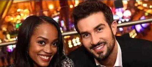 Rachel Lindsay and Bryan Abasolo attend engagement party [Aban News/YouTube screenshot]