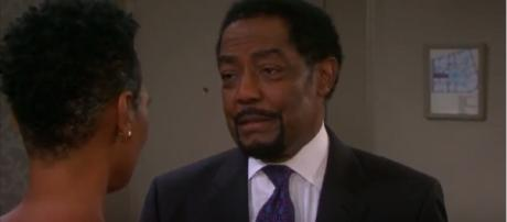 'Days of our Lives' Abe Carver. (Image via YouTube screengrab/NBC)