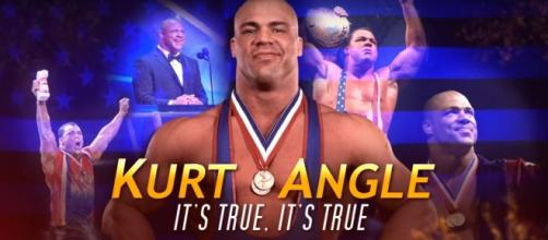 A must have collection of WWE for a true wrestling fan. Angle's new collection is out now. Image courtesy: Youtube/WWE