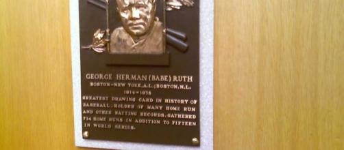Babe Ruth Hall of Fame Plaque provided by Matthew Blittner