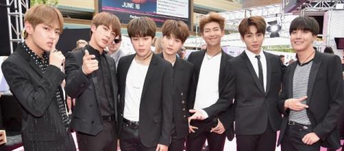 BTS' ARMY were displeased over how the K-pop group's win was handled by the Teen Choice Awards. source: BTS_ARMY/Twitter