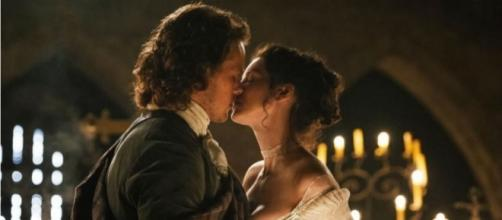 Catriona Balfe finally addressed the rumors linking her to Sam Heughan. Photo by STARZ/YouTube Screenshot