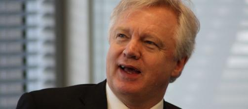 David Davis hasn't gotten far in the negotiations with the EU (Image: Wikimedia Commons/Robert Sharp)