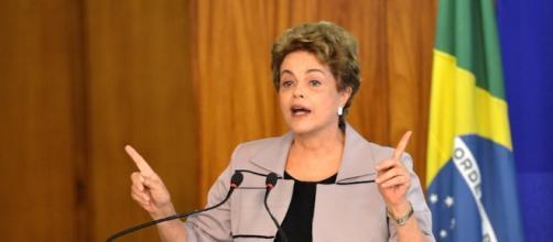 El presidente de Brasil Dilma Rousseff