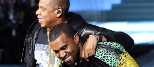 Jay-Z e Kanye West (Foto: REX/Shutterstock)
