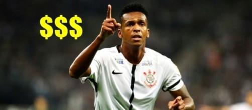 Jô - atacante do Corinthians Paulista