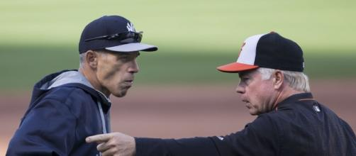 Joe Girardi, Buck Showalter | Yankees at Orioles 04/13/15 | Flickr - flickr.com