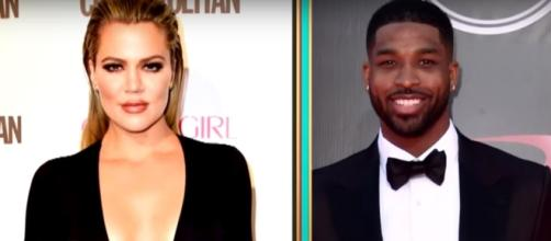 Khloe Kardashian Says Boyfriend Tristan Thompson Wants to Have 'Five or Six' Kids With Her via Entertainment Tonigth You Tube Channel