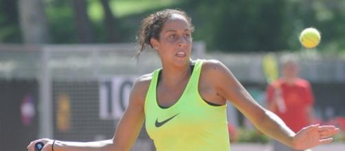 Madison Keys of the United States (Wikimedia Commons/Kulitat)