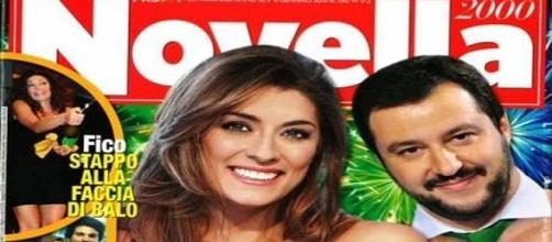 Matteo Salvini ed Elisa Isoardi in vacanza: la bufera è passata