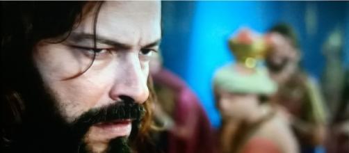 Nabucodonosor fica louco na novela (Foto: Reprodução/Record TV)