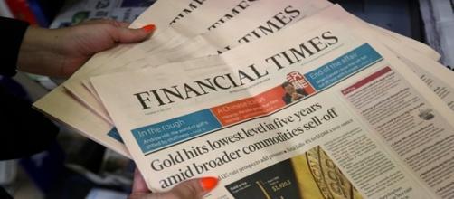 Secondo l'autorevole Financial Times della Gran Gretagna,l'Italia non è ancora fuori dalla crisi economica.Fonte:http://www.telegraph.co.uk/