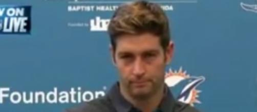 The Dolphins signed Jay Cutler to a one-year deal worth $10 million -- NFL Live via YouTube