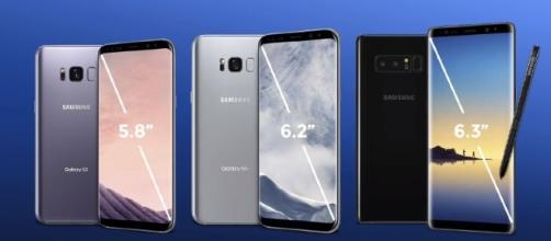 The Samsung Galaxy Note 8 will feature a 6.3-inch screen with infinity display - YouTube/GadgetMatch