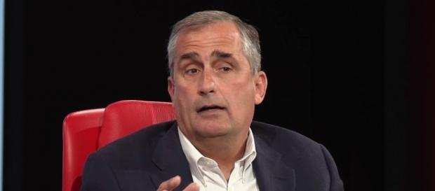 Intel CEO Brian Kzacnich just quit the manufacturing council. - Image credit - Record/YouTube.