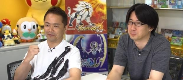 Junichi Masuda and Shigeru Ohmori of Game Freak - nintendoeverything.com
