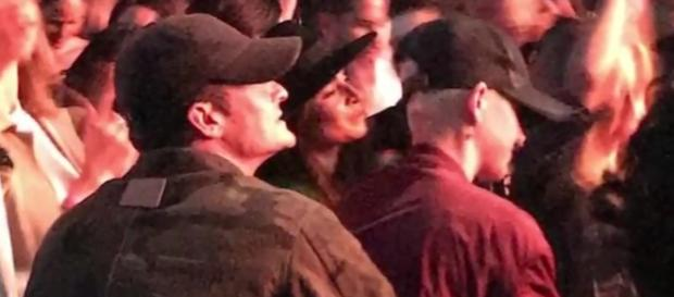 Katy Perry and Orlando Bloom photographed at the Los Angeles concert of Ed Sheeran over the weekend - YouTube/CELEBRITY NEWS