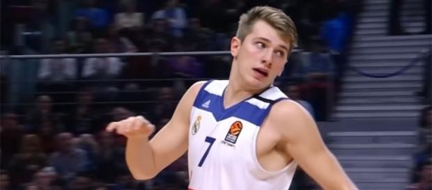 NBA Draft top prospect Luka Doncic. (via YouTube - EUROLEAGUE BASKETBALL)