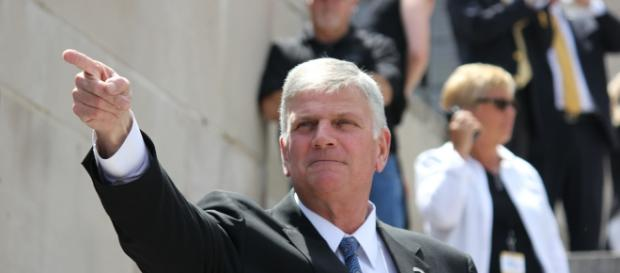 Satan is to blame for violence in Charlottesville according to Franklin Graham - Flckr