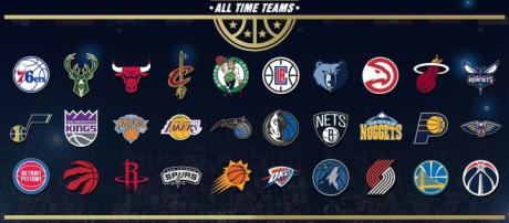 'NBA 2K18' will have 16 new classic teams and 30 All-Time teams(NBA 2K18/Twitter)