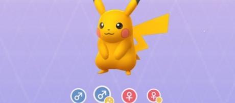 Shiny Pikachu/ photo by @OscarLagrosen via Twitter