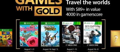 August's Xbox Games With Gold Announced; Includes Slime Rancher ... - dualshockers.com