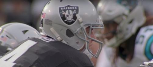 Derek Carr is looking for another MVP-caliber season in 2017. Photo courtesy: NFL Youtube channel