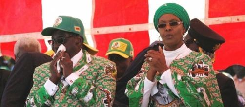 Grace Mugabe has flown home despite reports she was handing herself in to police for assault [Image: Wikimedia by DandjkRoberts/CC BY-SA 3.0]