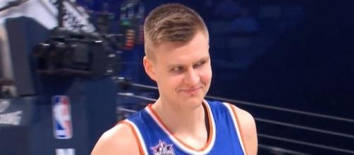 Image via Youtube channel: NBA #KristapsPorzingis